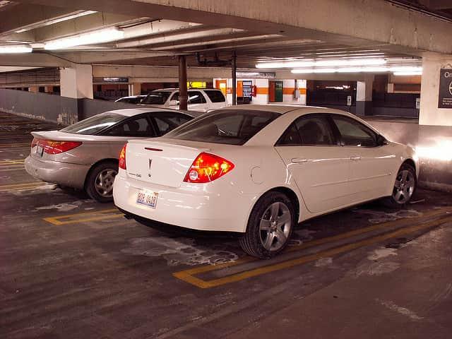 Fapados parkoló Vecsés területén